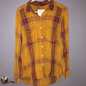 Boyfriend fit flannel